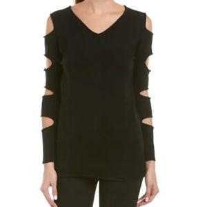 Love Token Gabby Black Cut Out Sweater